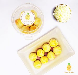 cheezylicious - cheese pineapple tarts