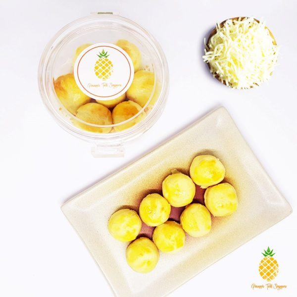 cheezylicious – cheese pineapple tarts