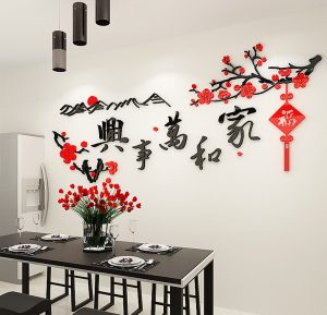 CNY Wall Stickers Ideas