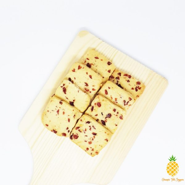 Berry Berry Good - Cranberry Almond Shortbread - Pineapple Tarts Singapore