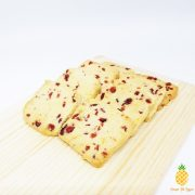 Berry Berry Good – Cranberry Almond Shortbread close-up – Pineapple Tarts Singapore