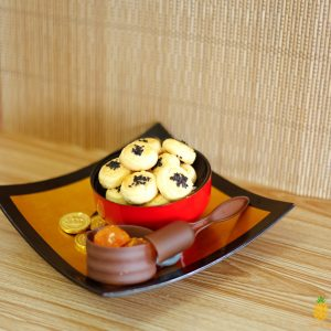 Salted Egg Cookies Nian Nian Yolk Yu by Pineapple Tarts Singapore