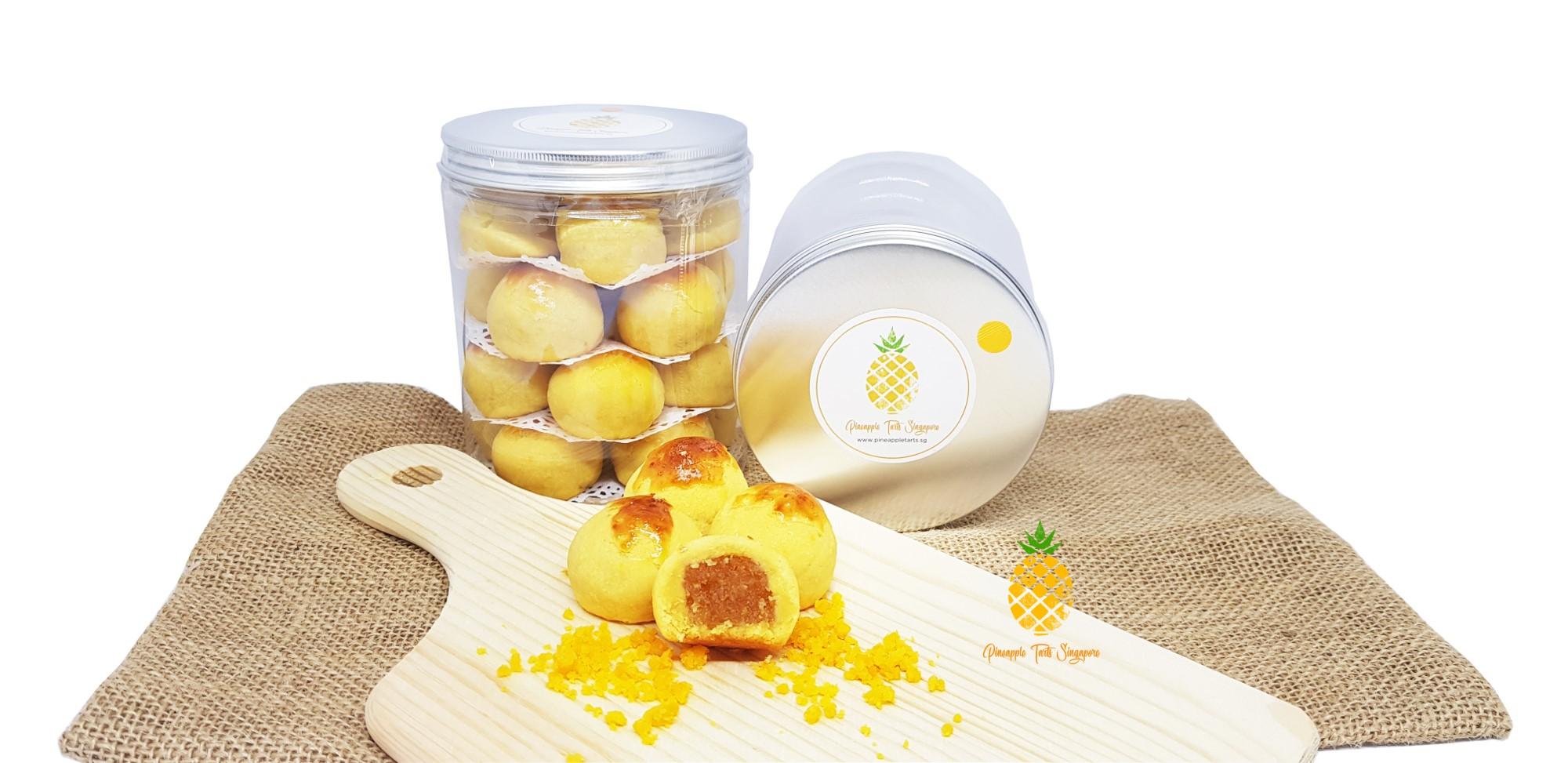 Salted Egg Pineapple Tarts - CNY Goodies
