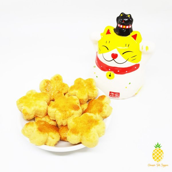 Xing Fu - Almond CNY Cookies Angle - Pineapple Tarts Singapore