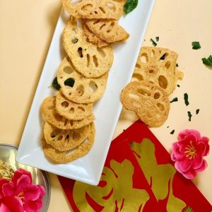 Eggbundance Salted Egg Lotus Chips