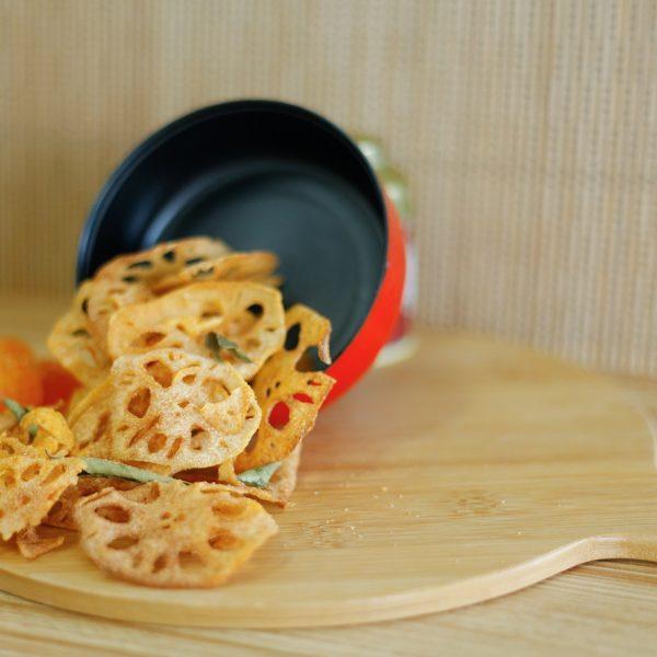 Eggbundance Salted Egg Lotus Chips – Pineapple Tarts Singapore