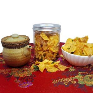 Eggstravagent - Salted Egg Yolk Potato Chips CNY Goodies