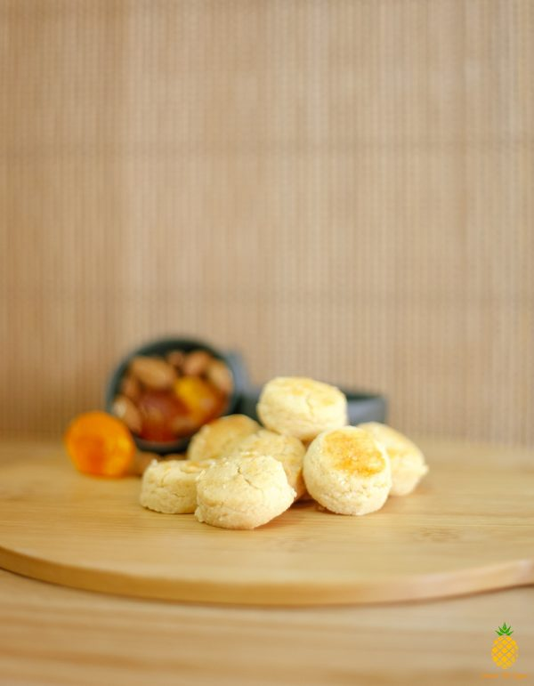 Fuzion Salted Egg Almond Cookies - Pineapple Tarts Singapore