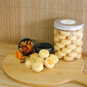 Fuzion Salted Egg Almond Cookies by Pineapple Tarts Singapore