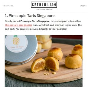 Pineapple Tarts Review by Seth Lui