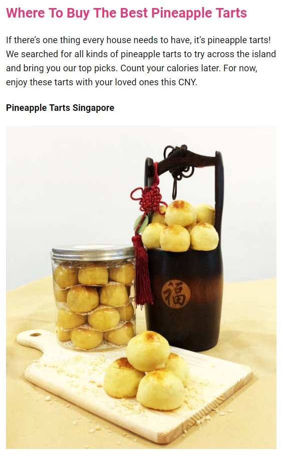 Pineapple Tarts Singapore Review by The New Age Parents