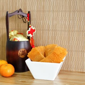 Da Ji Da Li Spicy Chicken Floss Love Letters - Pineapple Tarts Singapore