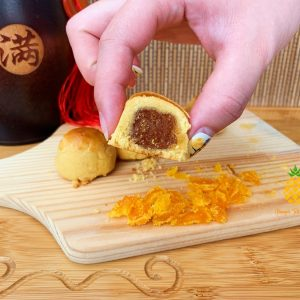 YOlkLO Salted Egg Pineapple Tart