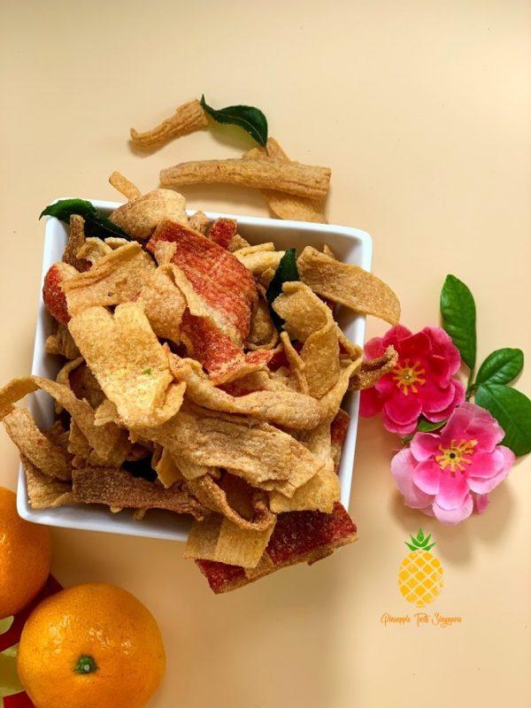 Sian Dan Xie Salted Egg Crab Sticks by Pineapple Tarts Singapore
