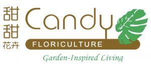 candy floriculture logo