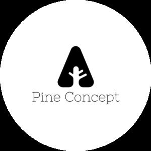pine concept logo