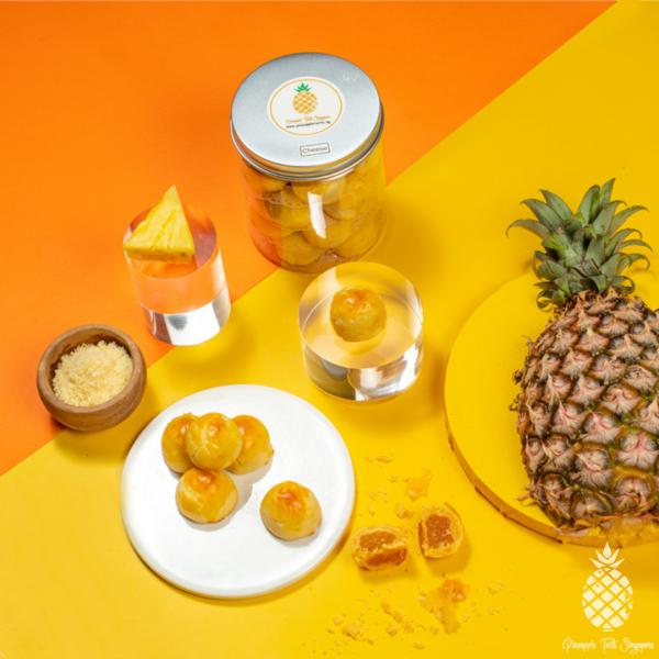 Cheese Pineapple Tarts Top View