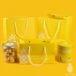 Pineapple Tarts Singapore Gift Bag Size