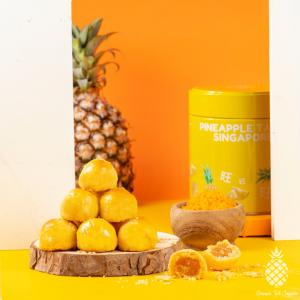 Premium Salted Egg Yolk Pineapple Tarts