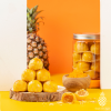 Salted Egg Yolk Pineapple Tarts