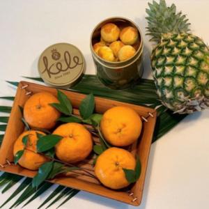 Tangerine Pineapple Balls
