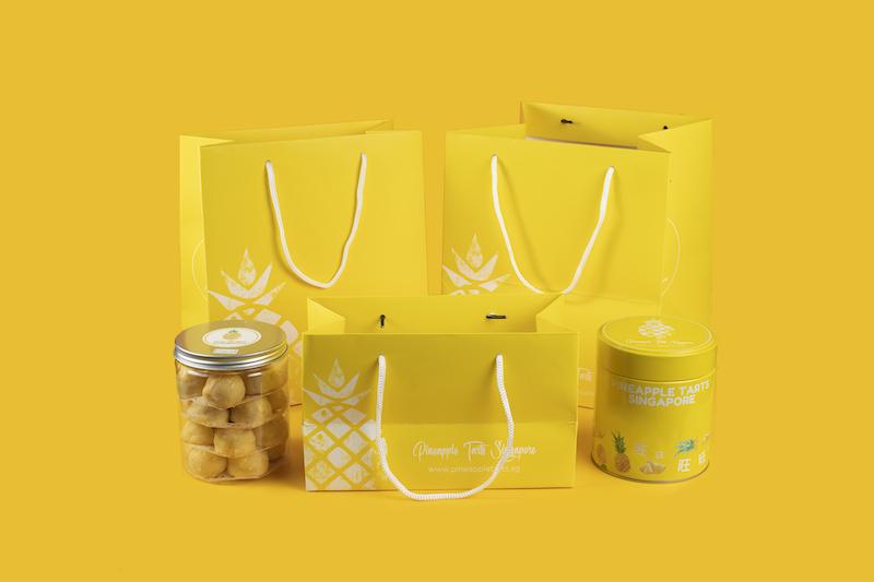 Pineapple Tarts Singapore Packaging
